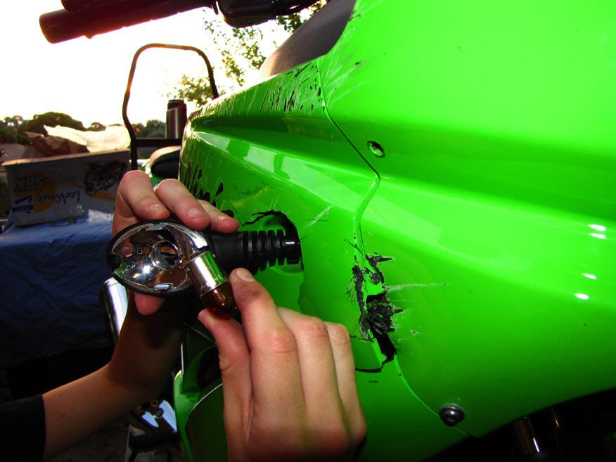 Q: Protecting the Fairing/Light? - KawiForums - Kawasaki Motorcycle ...